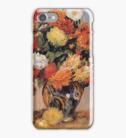 Renoir Auguste - Vase Of Flowers iPhone Case/Skin