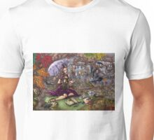 Miss Caroline Crow's Tea Party Unisex T-Shirt