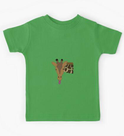 Cheeky Giraffe! Kids Tee