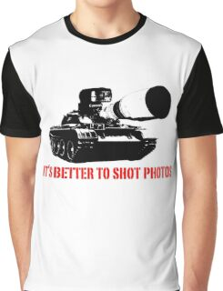 canon cannon better to shot photos Graphic T-Shirt