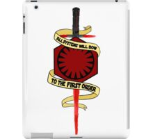 All Systems Will Bow Banner iPad Case/Skin