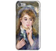 Renoir Auguste - The Ingenue 1877 iPhone Case/Skin