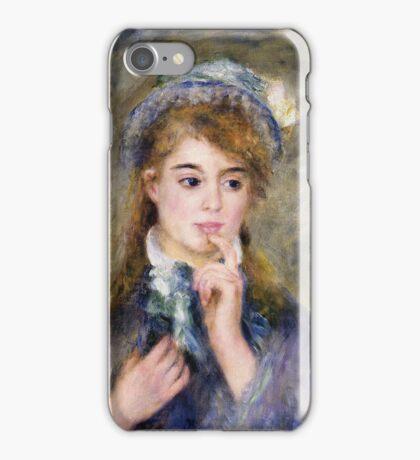 Renoir Auguste - The Ingenue 1877 iPhone Case/Skin