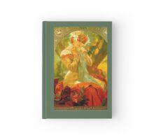 Alphonse Mucha Painting II Hardcover Journal