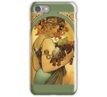 Alphonse Mucha Painting iPhone Case/Skin