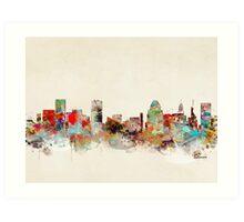 baltimore maryland skyline Art Print