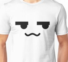 Squiggly Anime Face Unisex T-Shirt