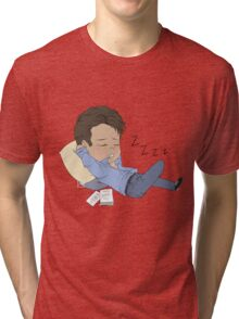 Procrastinating at its finest Tri-blend T-Shirt