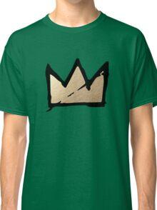 Gold & Black Basquiat Crown  Classic T-Shirt