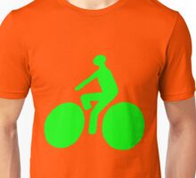 Green bike Unisex T-Shirt