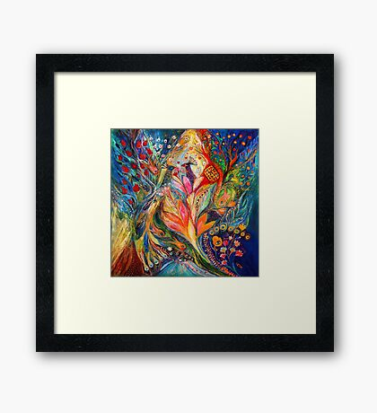 The Queen Lillie Framed Print