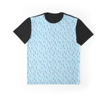 Drops on mint background Graphic T-Shirt