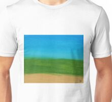 Land And Sky Abstract Unisex T-Shirt