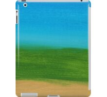 Land And Sky Abstract iPad Case/Skin