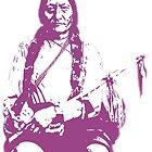 Sitting Bull - Purple by imageresource