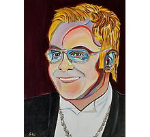 Sir Elton Photographic Print
