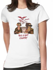 Bat country Womens Fitted T-Shirt