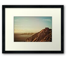 Skaros Rock Framed Print