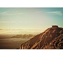 Skaros Rock Photographic Print