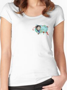 Hello My Sweet Bunny Friends Women's Fitted Scoop T-Shirt