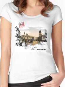 Polska - Poland - Warsaw - Warszawa Women's Fitted Scoop T-Shirt