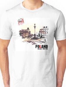 Poland - Polska Warsaw Warszawa Unisex T-Shirt