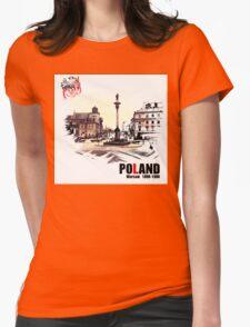 Poland - Polska Warsaw Warszawa Womens Fitted T-Shirt