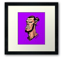 Comics Bale Framed Print