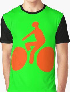Orange bike Graphic T-Shirt