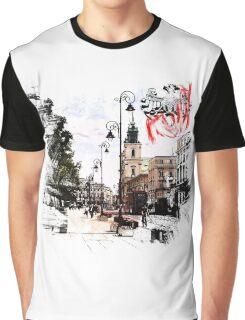 Poland - Warsaw Krakowskie Przedmiescie Graphic T-Shirt