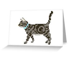 Cat - The Kids' Picture Show - 8-Bit Greeting Card
