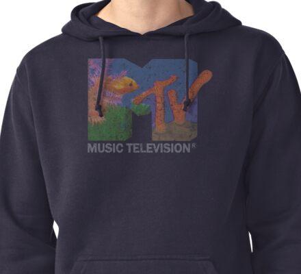 MTV logo Pullover Hoodie