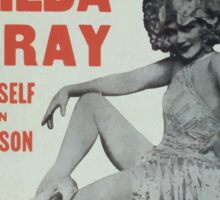 Performing Arts Posters Gilda Gray herself in person 0170 Sticker