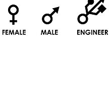 Female, Male, Engineer by brpbi