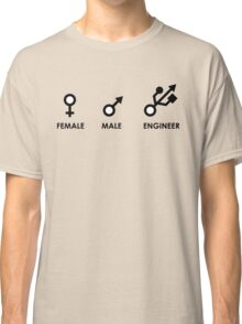 Female, Male, Engineer Classic T-Shirt