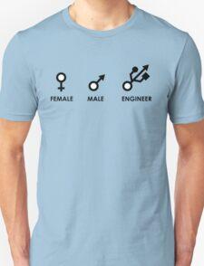 Female, Male, Engineer Unisex T-Shirt