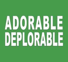 ADORABLE DEPLORABLE Kids Tee