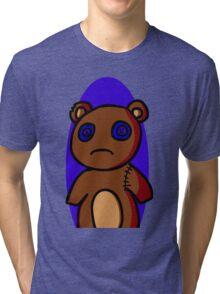 Abandoned Teddy Bear Tri-blend T-Shirt