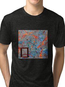 Paint #40 Tri-blend T-Shirt