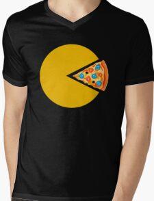 Pizza-man Mens V-Neck T-Shirt