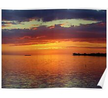 Colorful Sunset Sky Poster