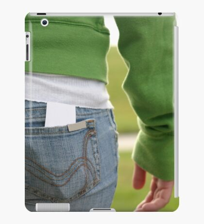 Butt iPad Case/Skin