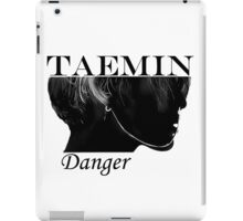 Face Taemin - Danger iPad Case/Skin