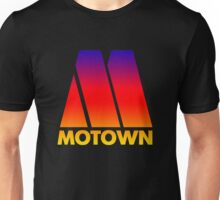 MOTOWN DISCO RECORDS (SUNSET) Unisex T-Shirt