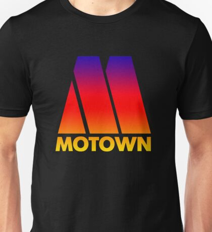 MOTOWN DISCO RECORDS (SUNSET) Unisex T-Shirt