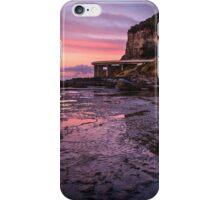 Sea Cliff Road at dawn iPhone Case/Skin