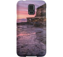 Sea Cliff Road at dawn Samsung Galaxy Case/Skin