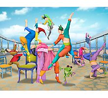 Ten Dancers Photographic Print