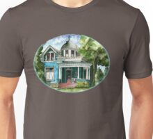 The House with Red Trim Unisex T-Shirt