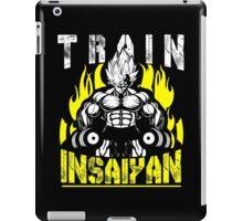TRAIN INSAIYAN (Vegeta Dumbbells) iPad Case/Skin